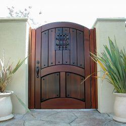 Designer Wood Gate #615