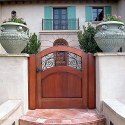 Designer Wood Gate #618