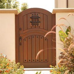Designer Wood Gate #619