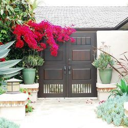 Designer Wood Gate #622