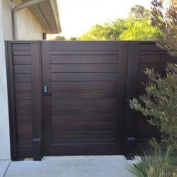 Modern Wood Gate #315