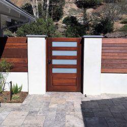 Modern Wood Gate #302
