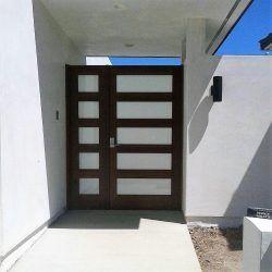 Modern Wood Gate #303