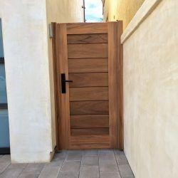 Modern Wood Gate #311