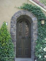 Designer Wood Gates #V1