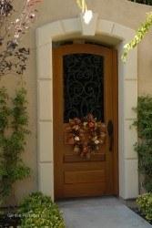 Designer Wood Gates #V3