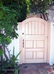 Designer Wood Gates #V5