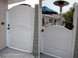 Designer Wood Gates #H6
