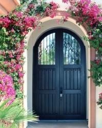 Designer Wood Gates #V6