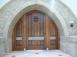 Designer Wood Gates #H9
