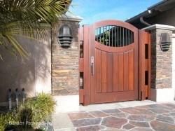 Designer Wood Gates #H13