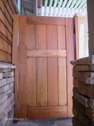 DIY Wood Gates #V1