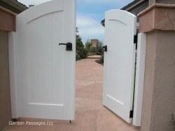 DIY Wood Gates #H1