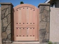 DIY Wood Gates #H2