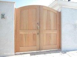 DIY Wood Gates #H3