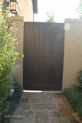 DIY Wood Gates #V5