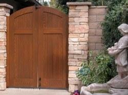 DIY Wood Gates #H8