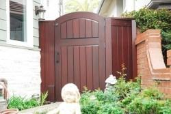 Premium Wood Gates #H37