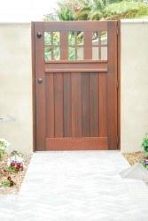 Premium Wood Gates #V14