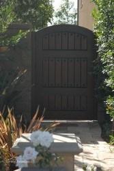 Premium Wood Gates #V9