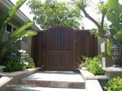 Premium Wood Gates #H6