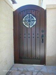 Premium Wood Gates #V10