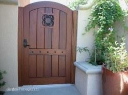 Premium Wood Gates #H10