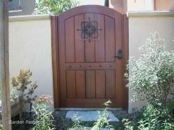 Premium Wood Gates #H12