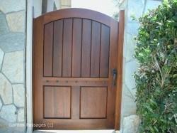 Premium Wood Gates #H21