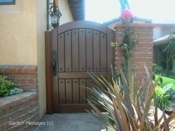 Premium Wood Gates #H23