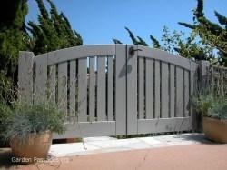 Premium Wood Gates #H34