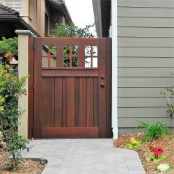 Craftsman Wood Gate #401