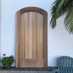 DIY Wood Gate - Arched Top - No Crossbar