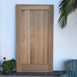DIY Wood Gate - Square Top - No Crossbar