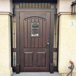 Designer Wood Gate #603