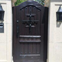 Designer Wood Gate #604