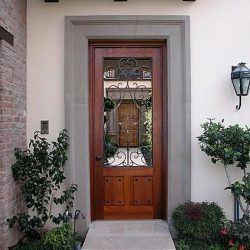 Designer Wood Gate #610