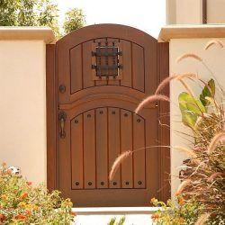 Designer Wood Gate #619