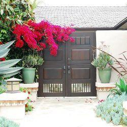 Designer Wood Gate #622