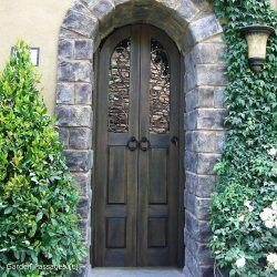 Designer Wood Gate #623