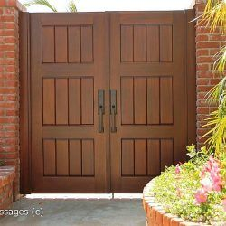 Double Wood Gate #516