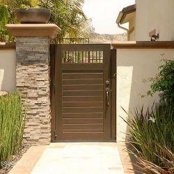 Modern Wood Gate #310