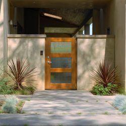 Modern Wood Gate #312