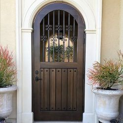 Old World & Tuscan Wood Gate #212