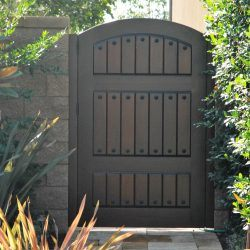 Old World & Tuscan Wood Gate #213